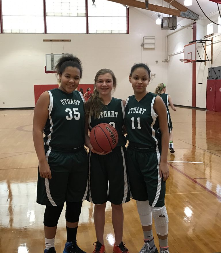 Stuart athlete is CYO League MVP; Three named to Middle School Basketball All Star Team
