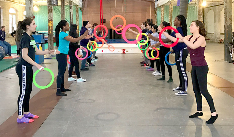 Adventure Under the Big Top: Stuart sophomores learn circus skills in two-week PBL
