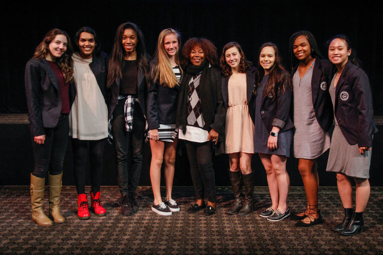 Civil Rights hero Ruby Bridges returns to campus to talk justice and acceptance with Stuart girls