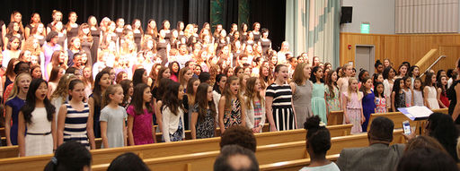 Stuart community celebrates the arts at All-School Student Art Exhibit and Spring Concert