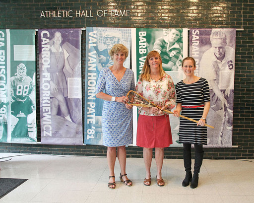 Excellence in athletics and leadership: three inspiring Stuart women inducted into the Athletic Hall of Fame