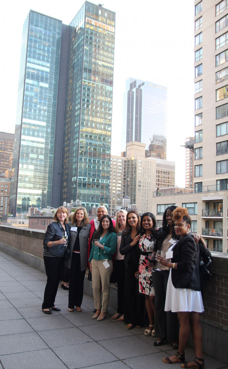 Stuart alumnae and friends make connections in NYC