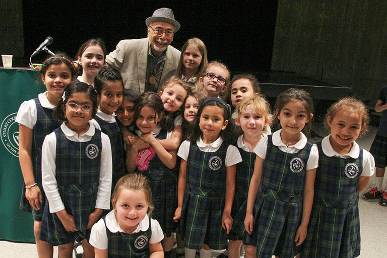 2017 Visiting Author, U.S. Poet Laureate, captivates Stuart community