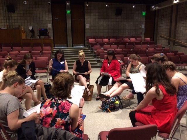 Script reading provides career connections for performing arts students