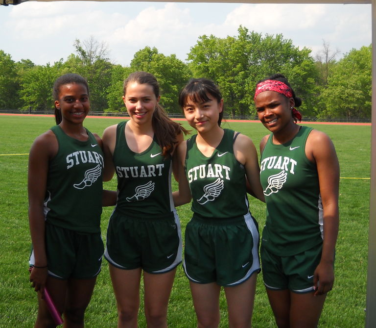 Upper School Track Team posts first individual score at Mercer County Championships