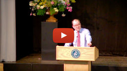 Video: Head of Middle School raps his Prize Day speech