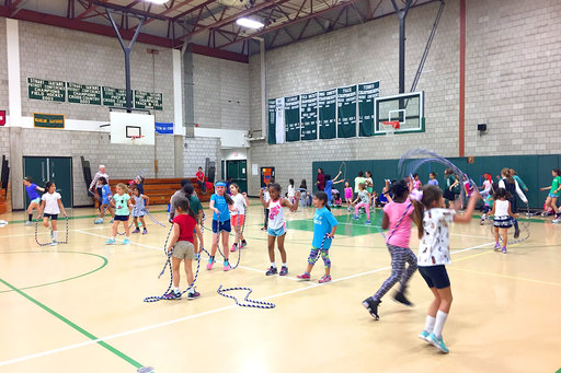 Lower School kicks off a heart-healthy summer with Jump Rope for Heart