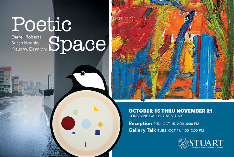 Poetic Space Art Exhibit Reception October 15