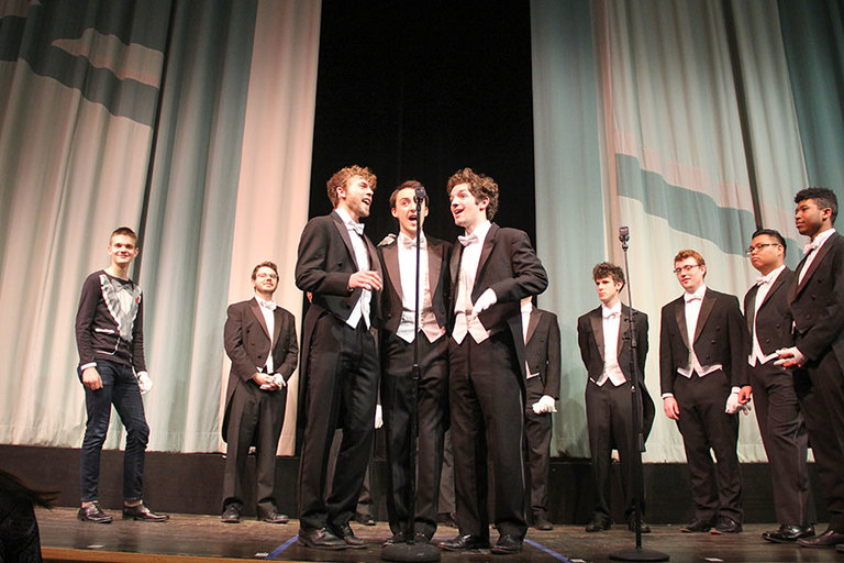 Stuart audience captivated by world-famous Yale Whiffenpoofs!