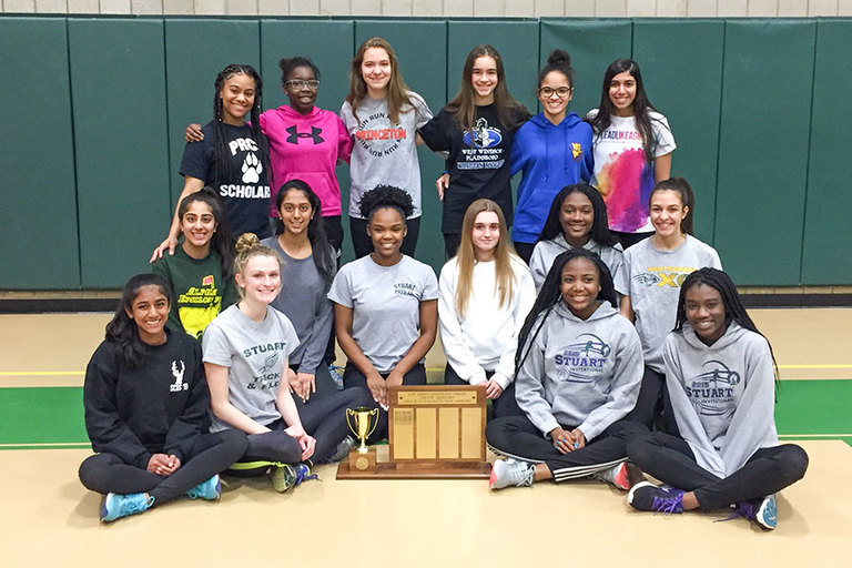 Town Topics: Producing a Slew of Personal Records, Stuart Track Wins 1st Indoor Prep B Title