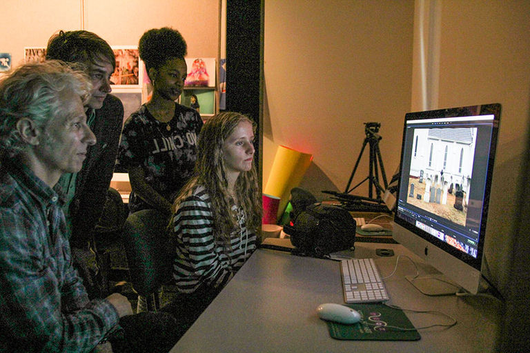 Filmmakers share experience and inspiration with our Upper School film students