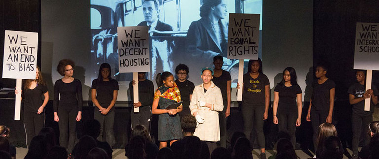 Students deliver moving celebration in Reflections: A Black Her-Story