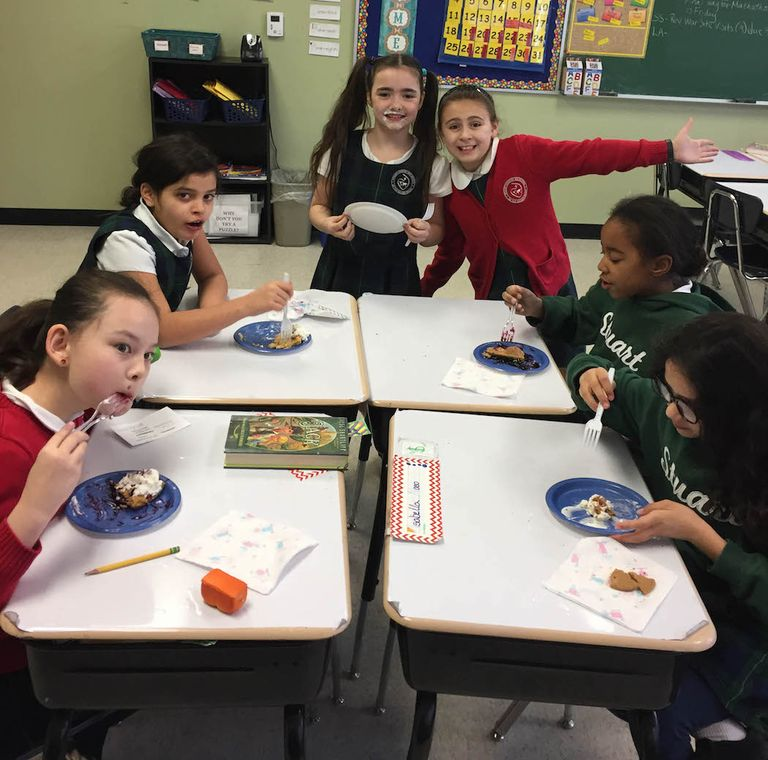 4th Graders hold Pi Day celebration worthy of Einstein's birthday