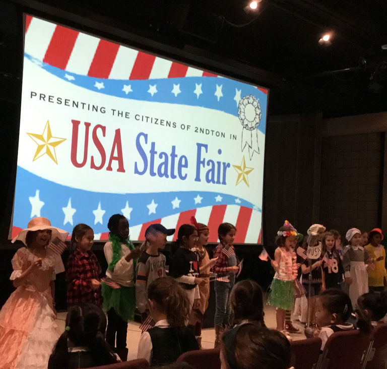 State Fair culminates 2nd grade study of civics and society