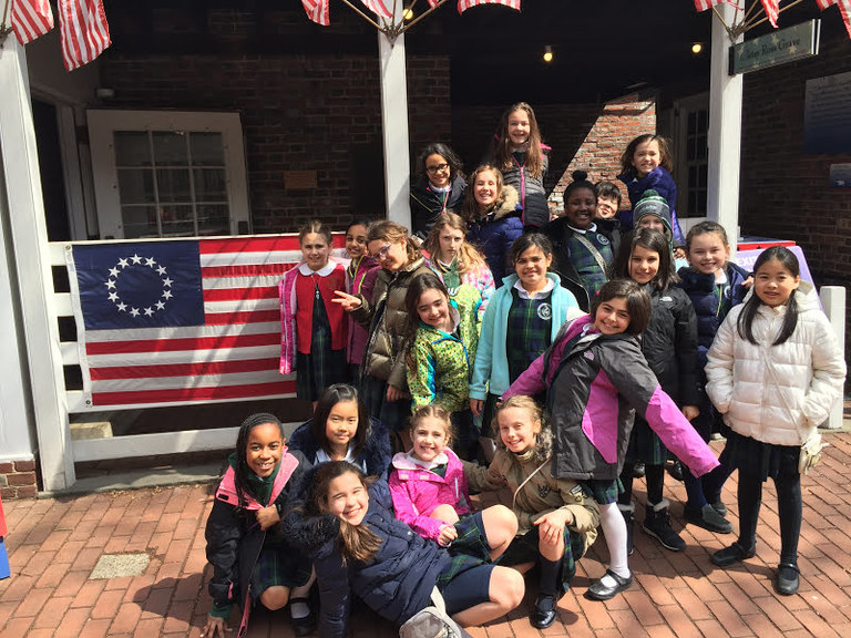 It's Revolutionary! Fourth graders take a stroll through American history in Philadelphia