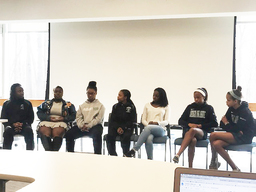 Middle and Upper School students lead important dialogue during Parent Coffee on Diversity