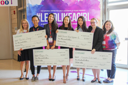 Five Stuart students earn STEM Talks and Business Fair awards at #LEADLIKEAGIRL