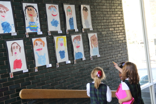 All School Art Exhibit showcases students' talents and intellectual interests