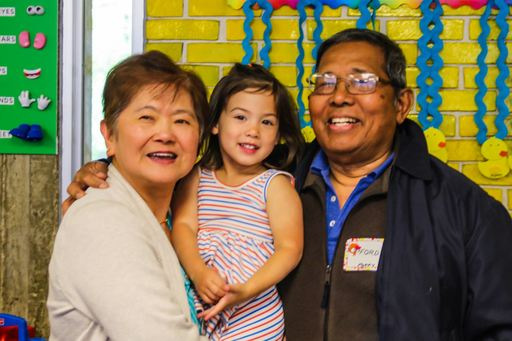 Early Childhood and Lower School students treat grandparents and special friends to a day of learning, music and fun