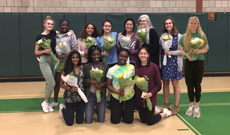 Stuart Track and Field honors largest group of senior class teammates