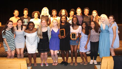 Upper School athletes from all three seasons honored at sports banquet