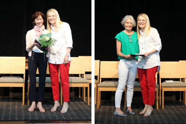 Faculty members honored for their years of service to Stuart