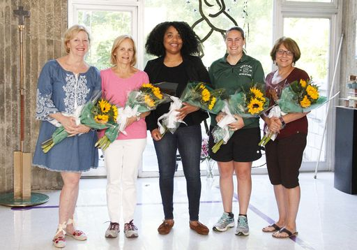 Stuart Board of Trustees honors five faculty and staff members with Sacred Heart Goal Awards
