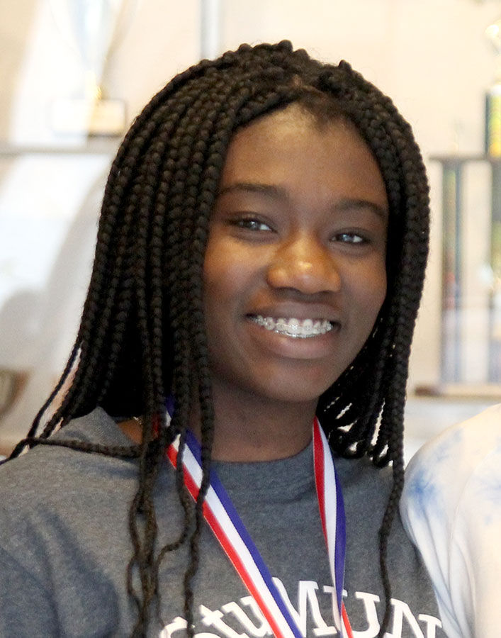 Michelle Kwafo named to Trenton Times All-Area Team for girls track and field