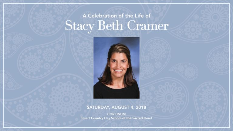 [Watch] A celebration of Stacy Cramer's life