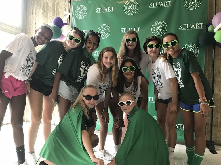 Green and White Day brings out the competitive spirit among students and faculty