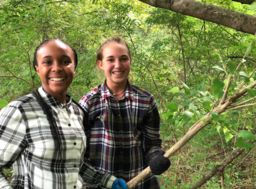 Middle School students put Goal 3 into action with a day of service in the local community