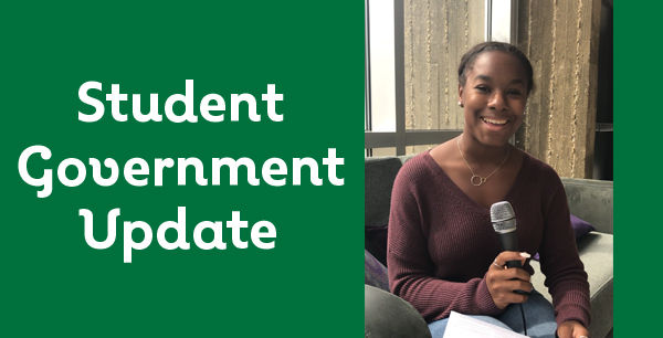 *New* VIDEO: Monthly report from student government
