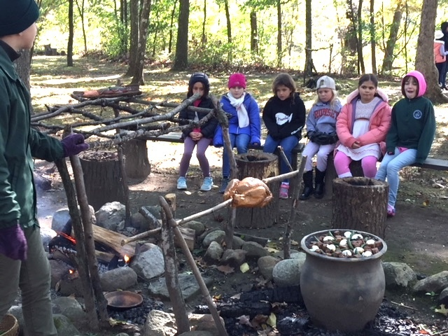 Third graders explore the life and culture of Lenape tribe at Waterloo Village