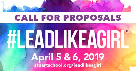 Call for Proposals for #LEADLIKEAGIRL 2019!
