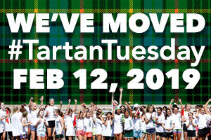 We've Moved! Tartan Tuesday is now on February 12, 2019