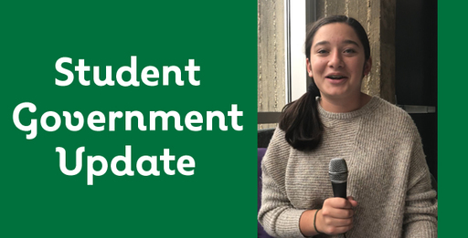 VIDEO: Student Government Update for October