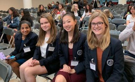 Stuart seniors chart their path to business leadership at Harvard women's conference