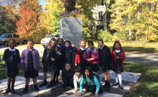 Second graders turn roving reporters to interview people of Princeton