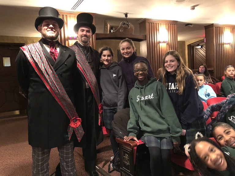 McCarter's A Christmas Carol puts sixth graders in the holiday spirit