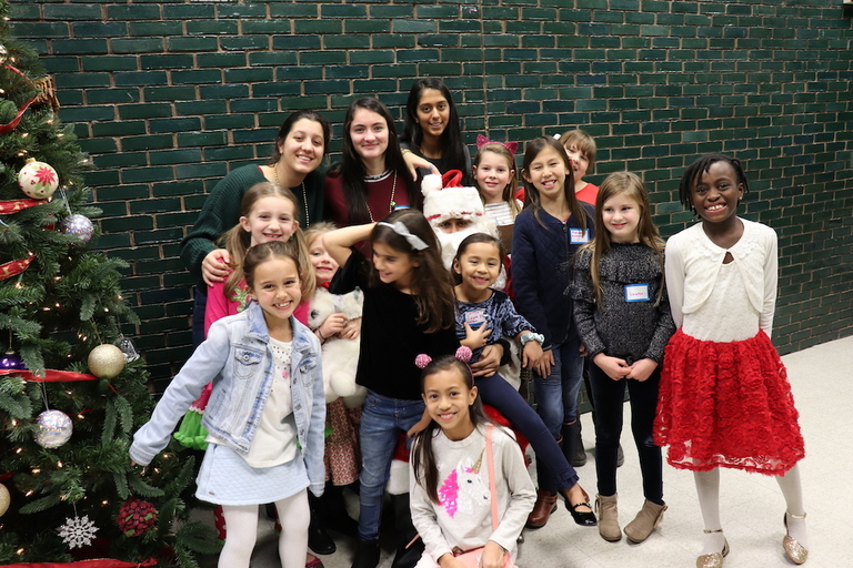 Charity: Water Club hosts annual Christmas party for Lower School students