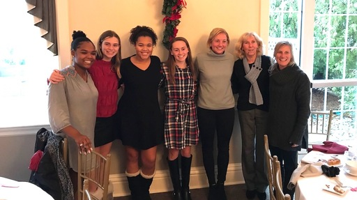 Varsity field hockey players honored by the Central Jersey Field Hockey Coaches Association
