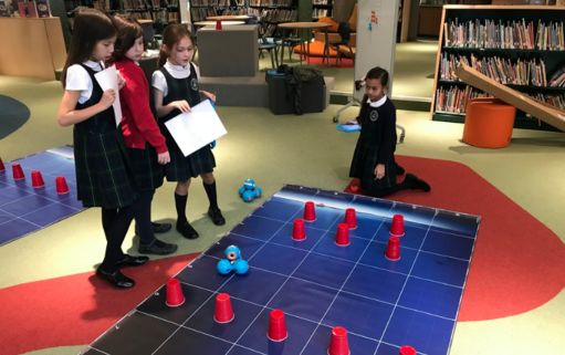 It's a Dash Bash! Expanded robot fleet in Millie's has made Lower School a coding zone