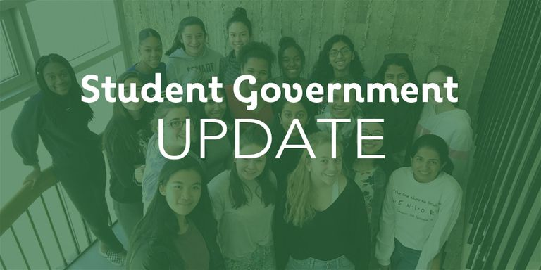 Student government update for November