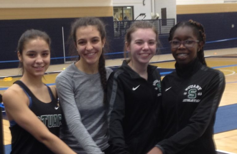 Indoor track begins season at Peddie with a goal to defend state title