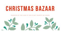 Support the Class of 2020 at the Christmas Bazaar next week