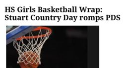 Trentonian: HS Girls Basketball Wrap: Stuart Country Day romps PDS