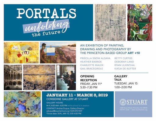 """Portals/Unfolding the Future"" Winter Art Exhibition at Stuart, Opening Reception on January 11"