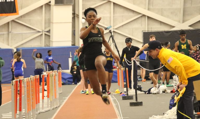 Indoor track breaks school record and earns season bests at Princeton Invitational