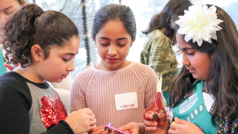 Girl Scouts Fun Badge event inspires attendees to find the G.I.R.L in themselves