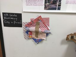 City in Process: Fourth grade artists develop understanding of 3D space